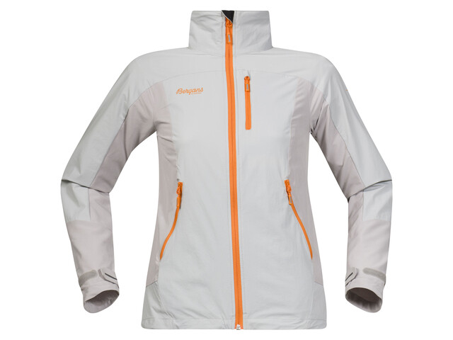 Bergans W's Torfinnstind Jacket Aluminium/Pumpkin